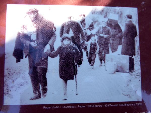 Foto der Flucht Memorial La Vajol Freibeuter reisen