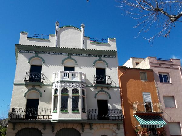 La Jonquera Dorf Haus Modernistisch Freibeuter reisen