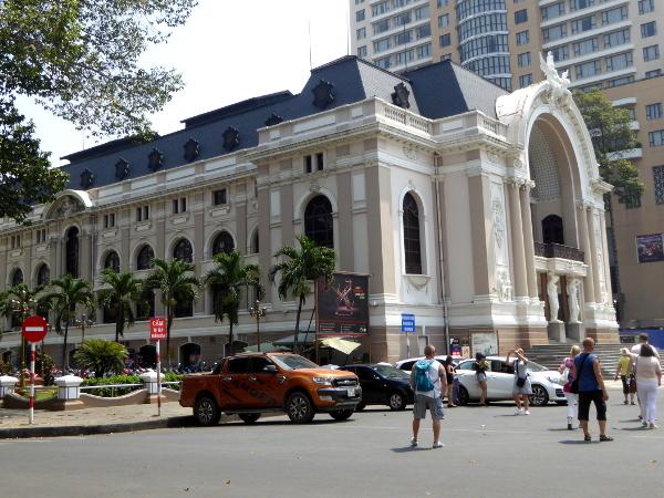oper Ho Chi Minh city