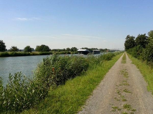 Fahrradweg mittellandkanal womo nordsee