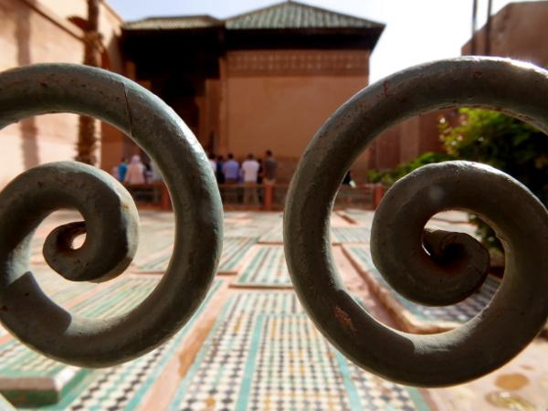 Marrakesch Grabmal Saadier diener freibeuter reisen