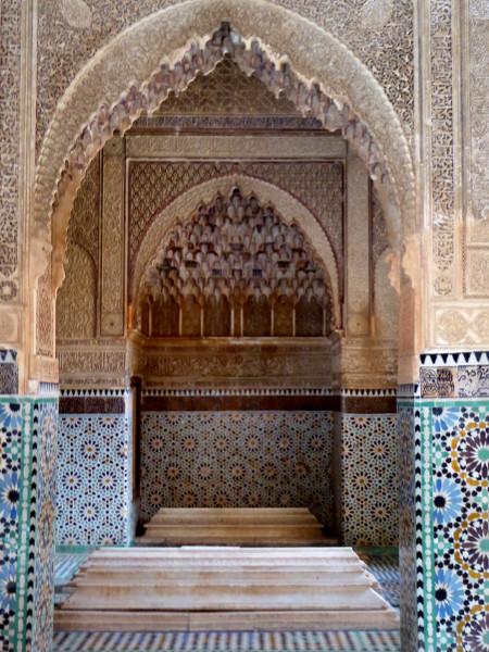 Marrakesch Mauseoleum saadier Freibeuter reisen