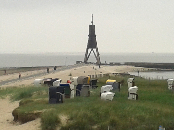 Nordsee Kugelbake bei Cuxhaven