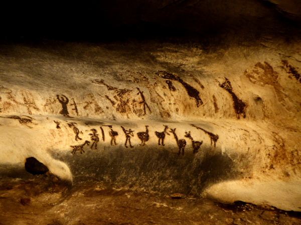 magura hoehle cave bulgarien freibeuter reisen steinzeitmalerei zeichnungen