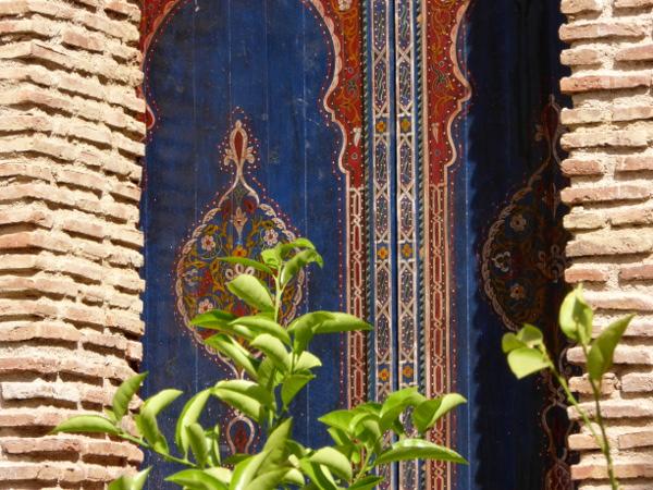 marrakesch bunte Tuer saadier graeber freibeuter reisen