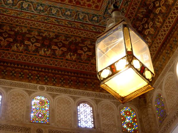 marrakesch palais bahia lampe freibeuter reisen marokko