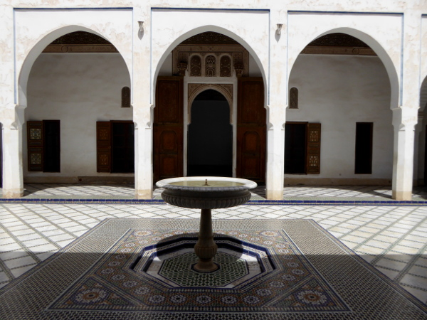 palais bahia wesir wohnhaus marrakesch marokko freibeuter reisen