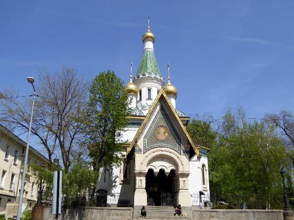 sofia russisch orthodoxe kirche sankt nikolai sweta freibeuter reisen