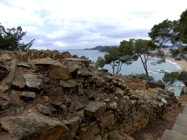 Iberer Indiketen turo rodo Lloret de mar iberer siedlung mauer freibeuter reisen