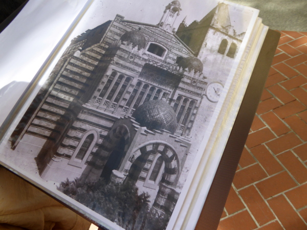 Kirche Sant Romà Lloret de mar Foto umbau modernistisch freibeuter reisen
