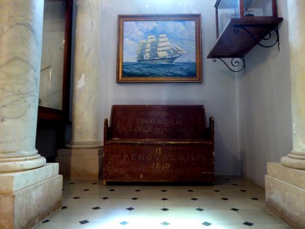 Santa Cristina Lloret de mar seefahrer kirche freibeuter reisen