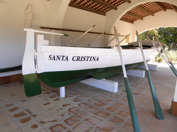 Santa Cristina llagut fischerboot lloret de mar freibeuter reisen