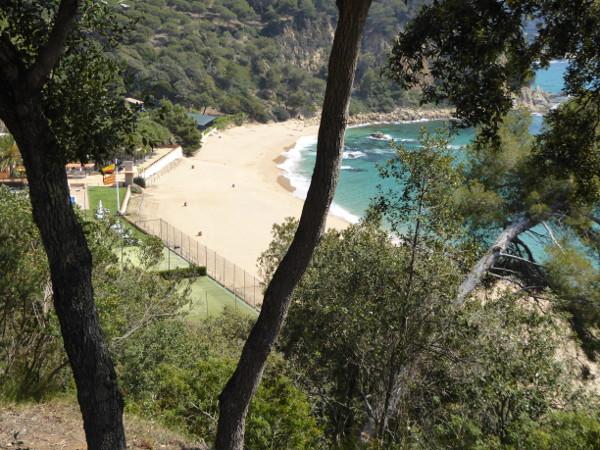 bucht santa cristina strand lloret de mar freibeuter reisen
