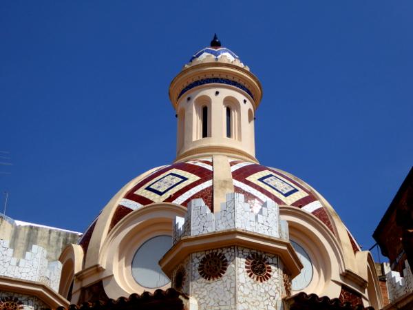 kirche Sant Romà lloret de mar turm freibeuter reisen