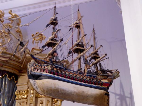 santa cristina ermita lloret de mar votivgabe schiff freibeuter reisen