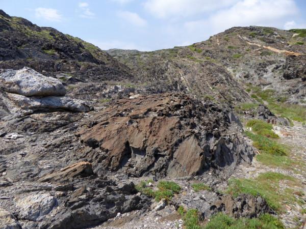 gestein geologie naturpark cap de creus freibeuter reisen