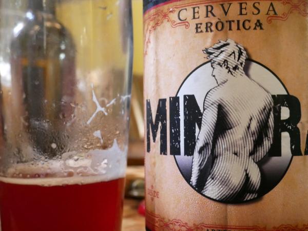 Bier zum erotischen Literaturfestival Minera