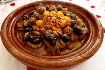 essen in marokko lamm tajine
