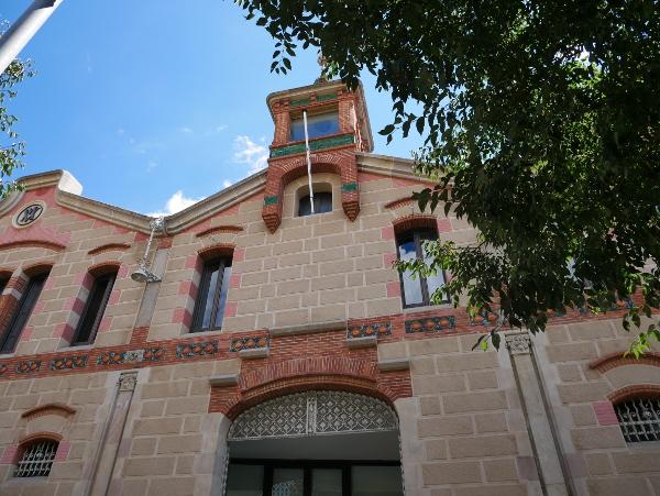 modernistische Fabrik Museu del suro palafrugell