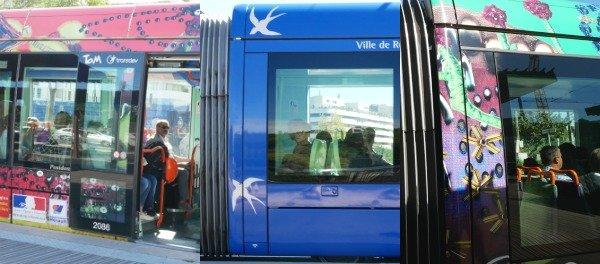 Kunst Tram Montpellier