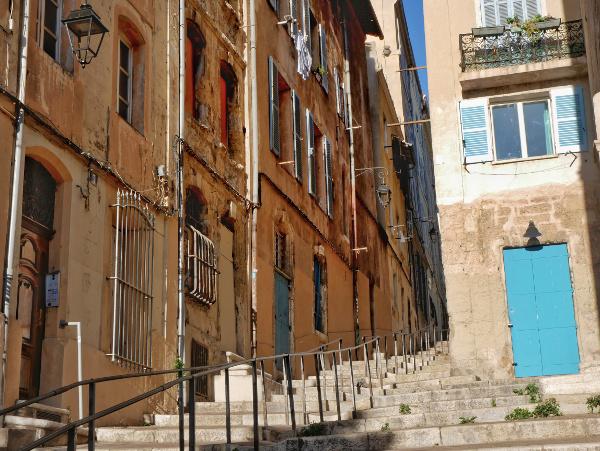 Marseille Panier Freibeuter reisen