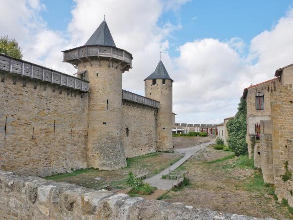 festung in der festung cite carcassonne freibeuter reisen