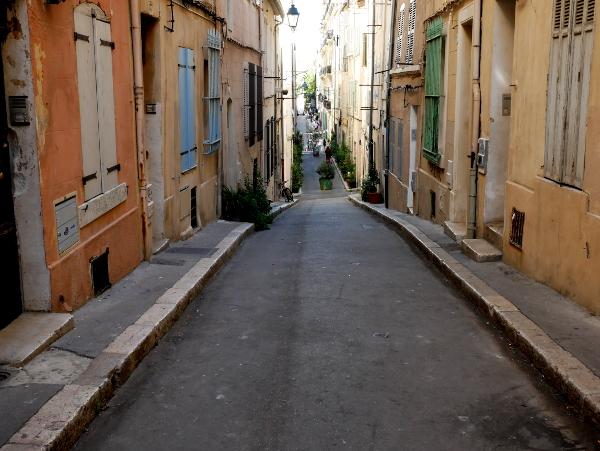 gasse im le Panier Marseille Freibeuter reisen