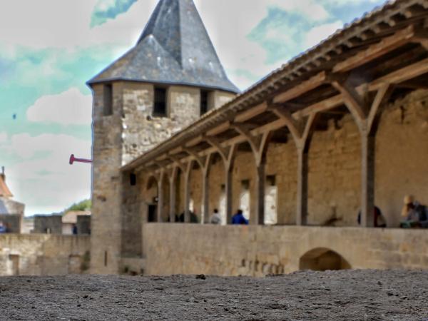 wehrgang carcassonne freibeuter reisen