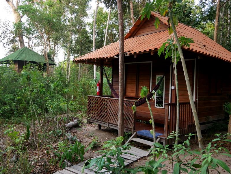 unterkunft regenwald alter do chao brasilien freibeuter reisen
