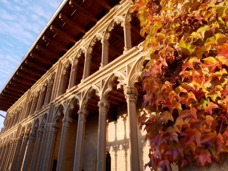 Olite Palacio REal Navarra Spanien