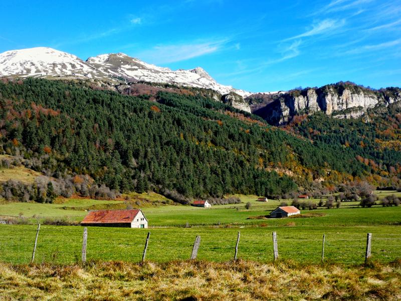 valle de Roncal Pyrenäen Spanien Navarra