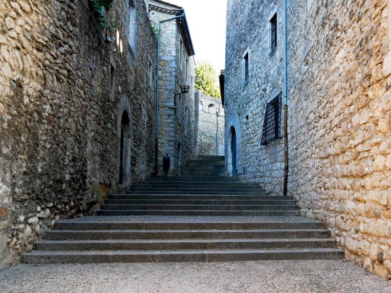 jüdisches Veirtel in Girona