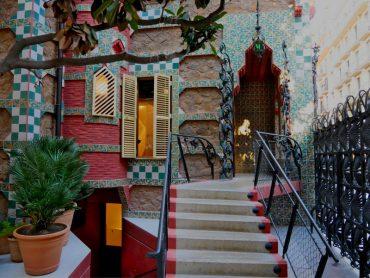 Casa vicens barcelona eingang