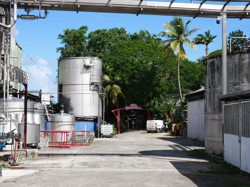 sehenswuerdigkeiten auf guadeloupe distillerie damoiseau