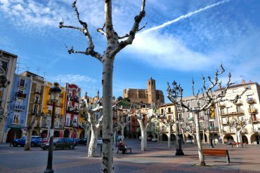 Balaguer Marktplatz