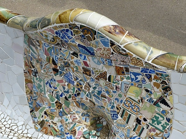 Barcelona Parc Guell Bank
