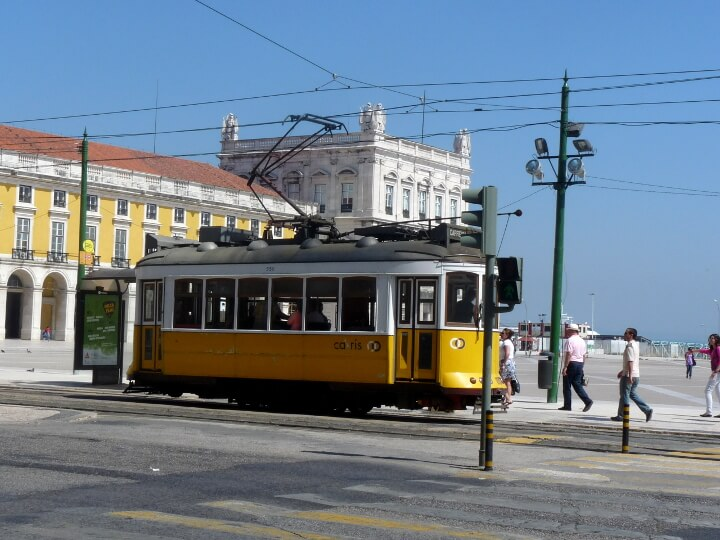 Lissabon tram bica
