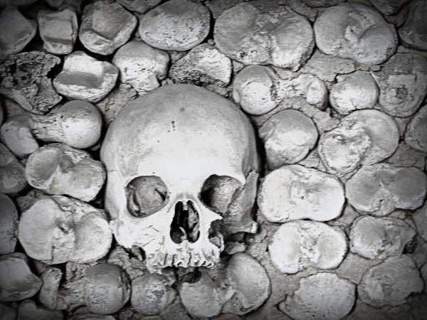 Knochenkappelle Faro Capela dos ossos Portugal
