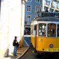 Mit der Tramvia 28 durch Lissabon 1