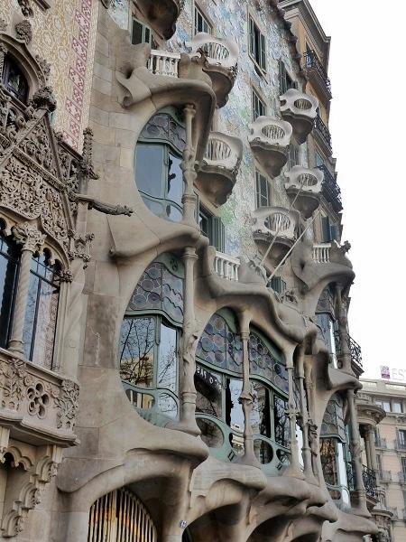Batllo Gaudi Barcelona