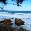 L' Escala - hohe Wellen im Golf von Roses 2