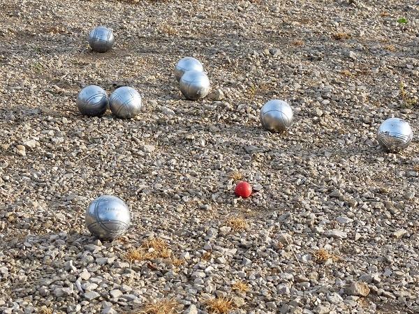 Boules spielen Domaine de la Faurie