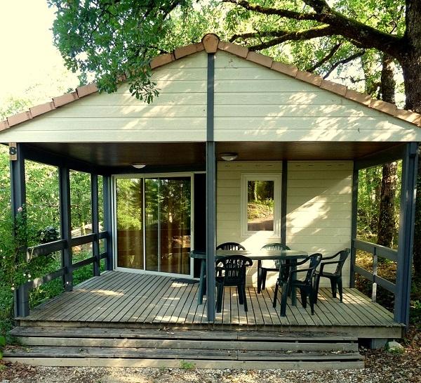 Camping Mobil-home Domaine de la Faurie