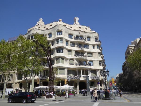 La Casa Mila Barcelona La Pedrera Gaudi