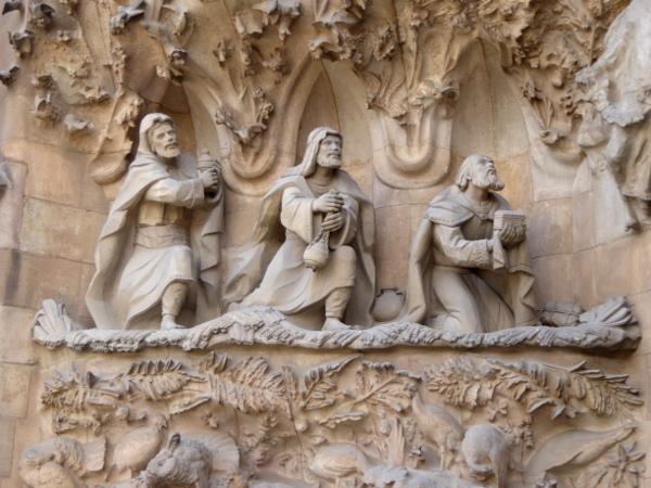heilige drei koenige sagrada familia barcelona freibeuter reisen