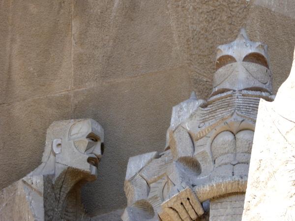 soldat evangelist sagrada familia barcelona freibeuter reisen