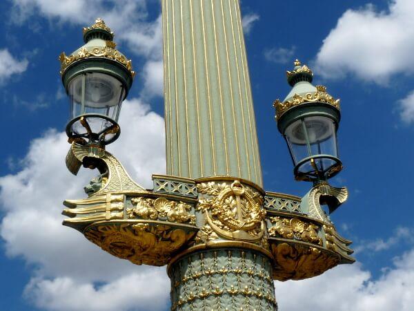 Paris Brücke Detail