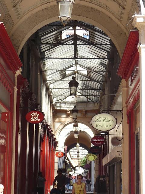 Lyon Shopping Galerie Innenstadt