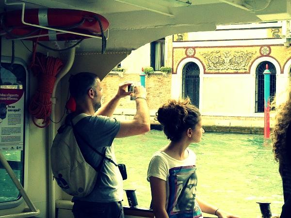 vaporetto venedig canal grande