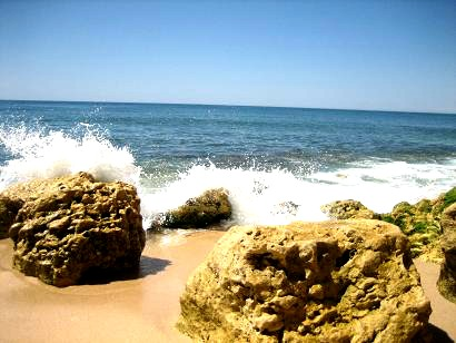 Algarve Strand bei Albufeira